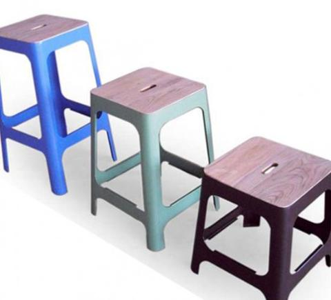 Industrial chic with a stackable design the Banbury stool epitomises the stripped back metal and timber elements that work so well in this style.  sc 1 st  HFI Commercial Design & 41-small-Industri-Stools-group-547x496.jpg islam-shia.org